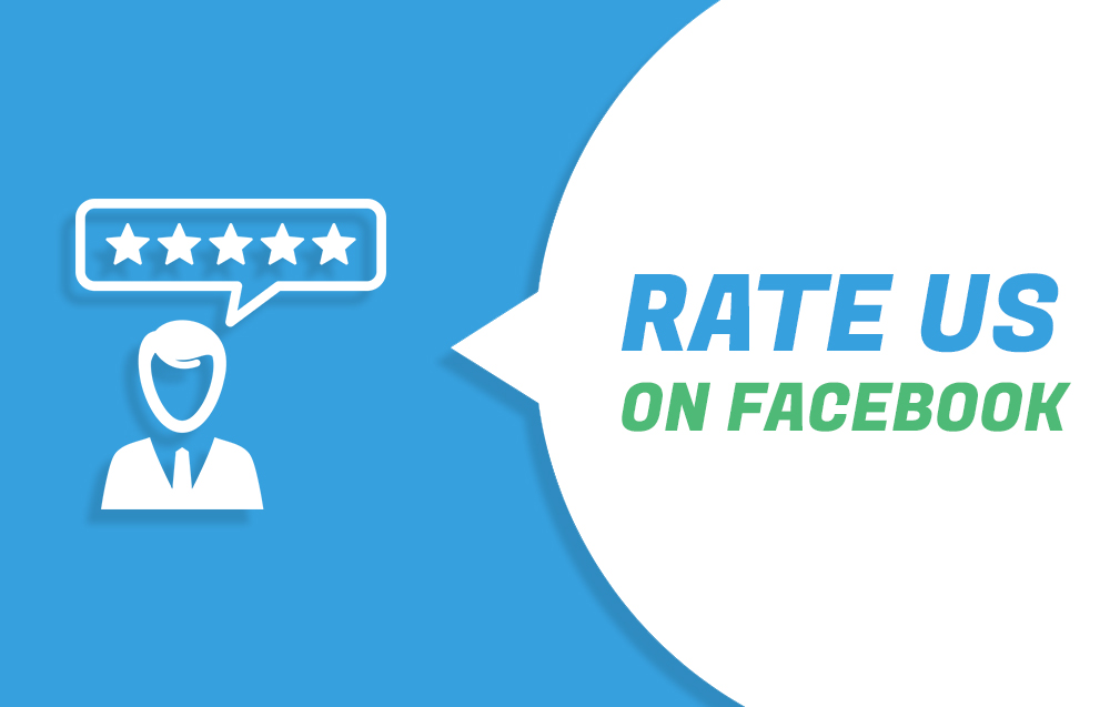 Rate us on Facebook