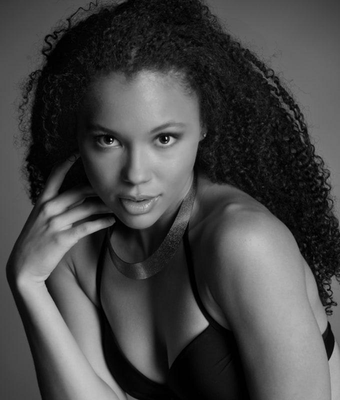Actress/Model Shaniya Brown Acting Headshots
