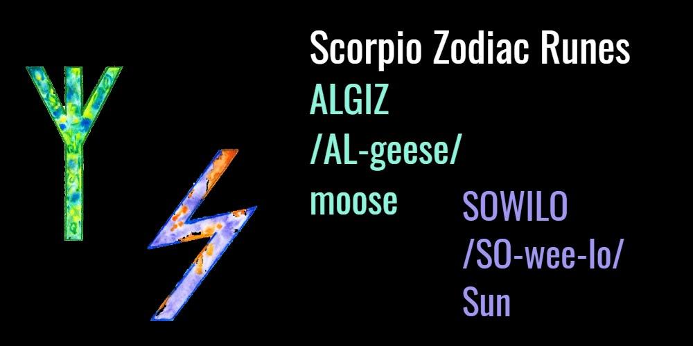 scorpio-runes