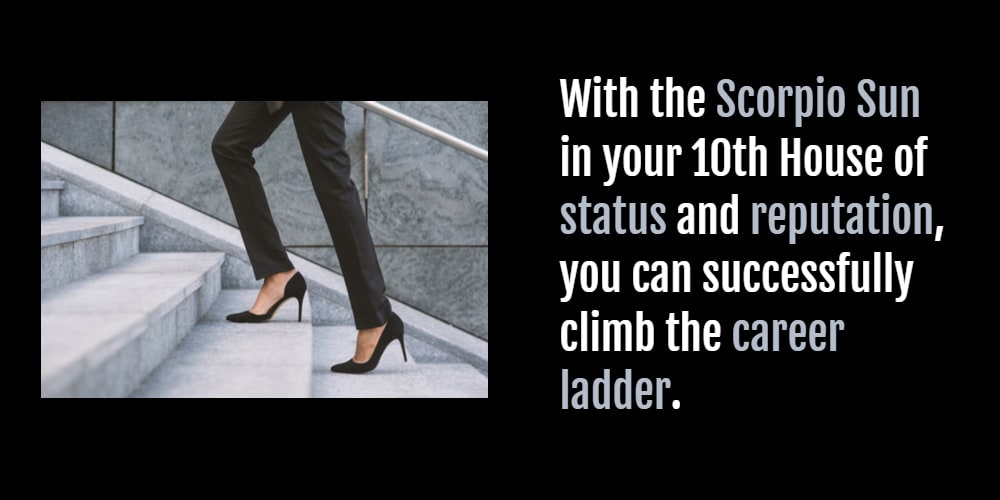 young woman climbing the career ladder
