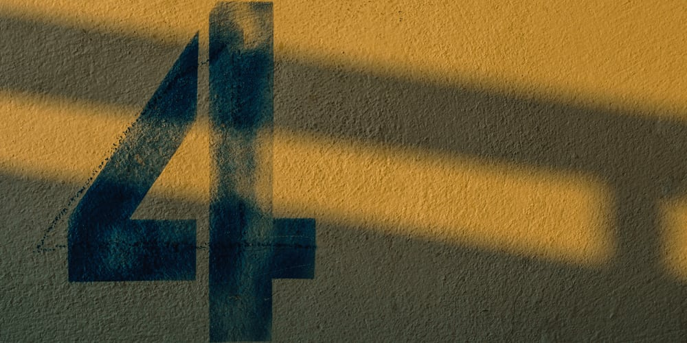 number-4-in-numerology
