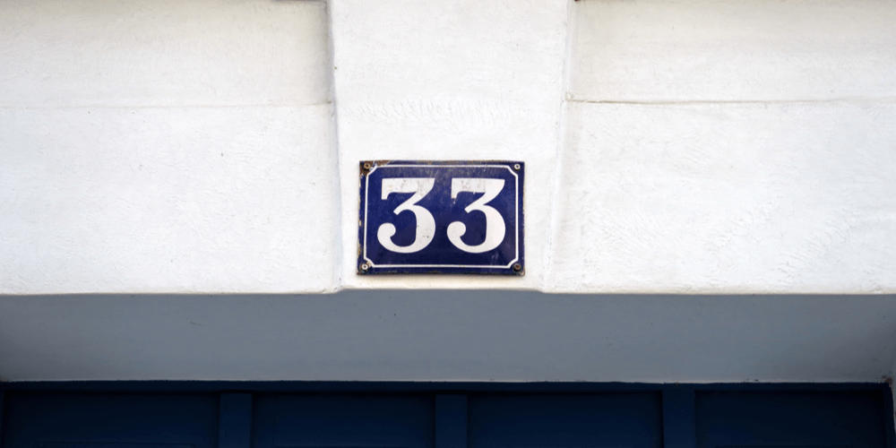 Number-33-numerology