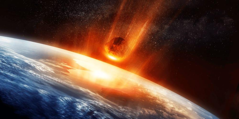 Asteroid nearing Earth