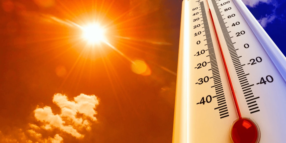 The heat index or humidex reflects the interrelation of air temperature and relative humidity.