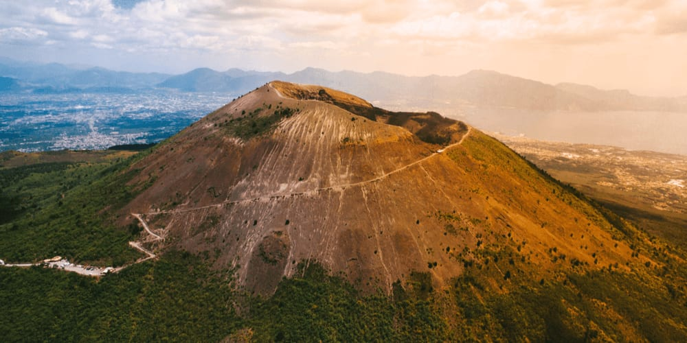 Vesuvius is still an active volcano