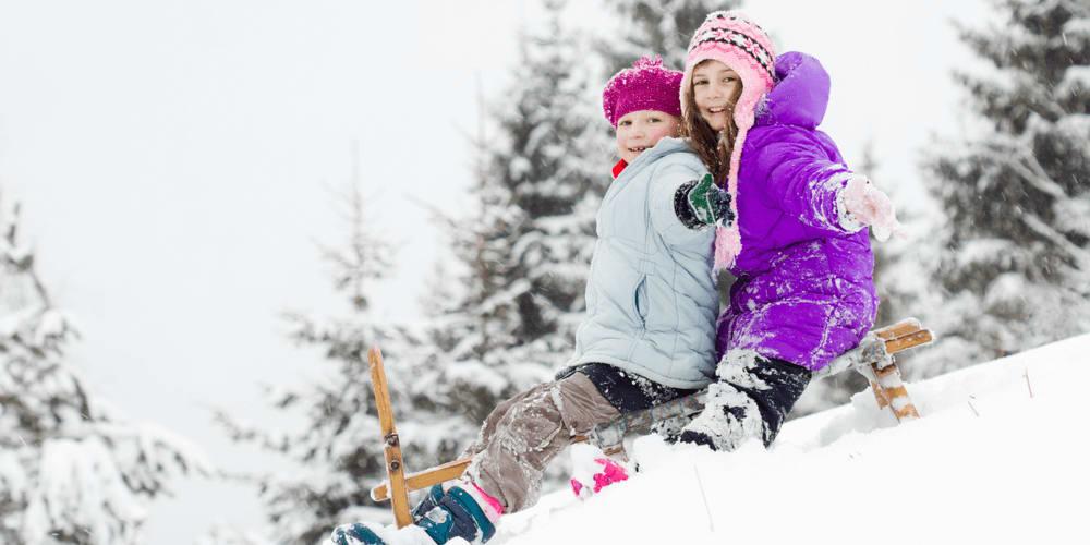 Go sledding down the hill.
