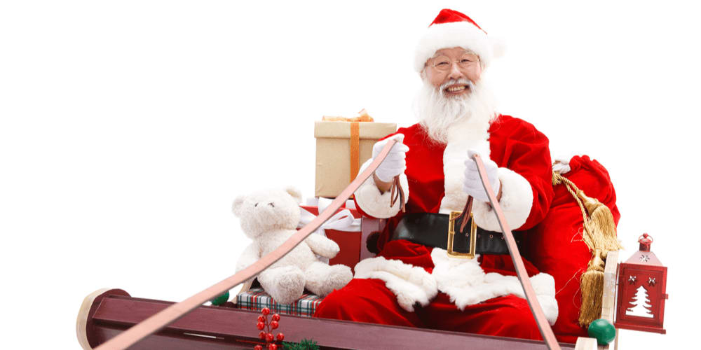 Chinese children do not write letters to Santa Clause