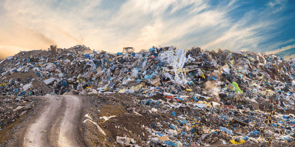 Landfill will remain as they are for thousands of years before they start to decompose
