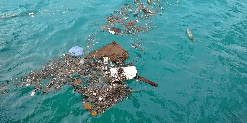 Garbage patches in the ocean