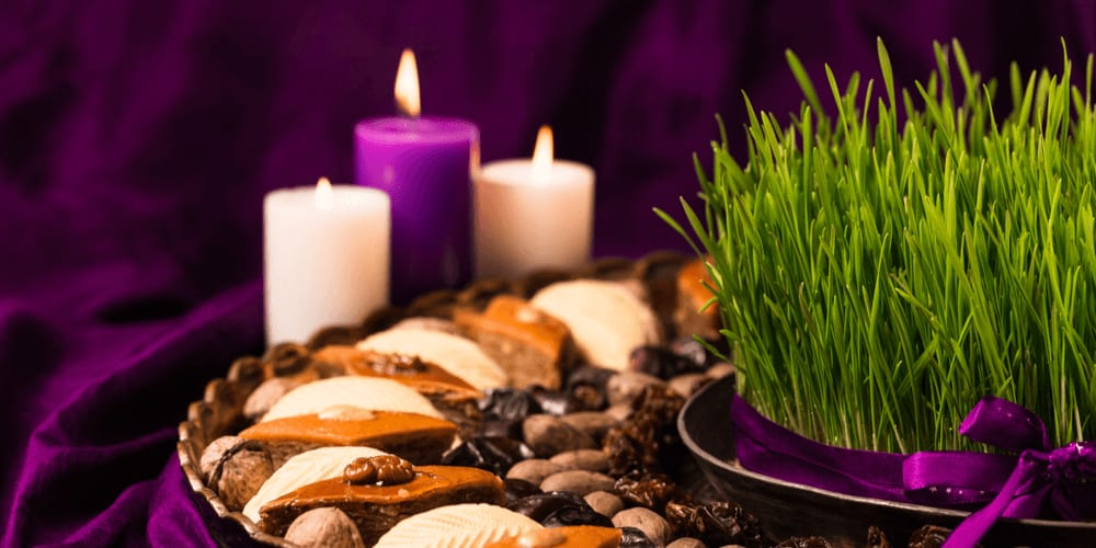 Nowruz starts on the March equinox