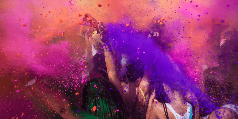 Holi is a Hindu Festival that is celebrated close to the vernal equinox