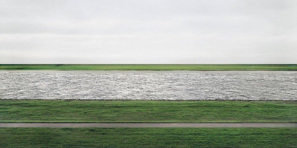 Rhein by Gursky