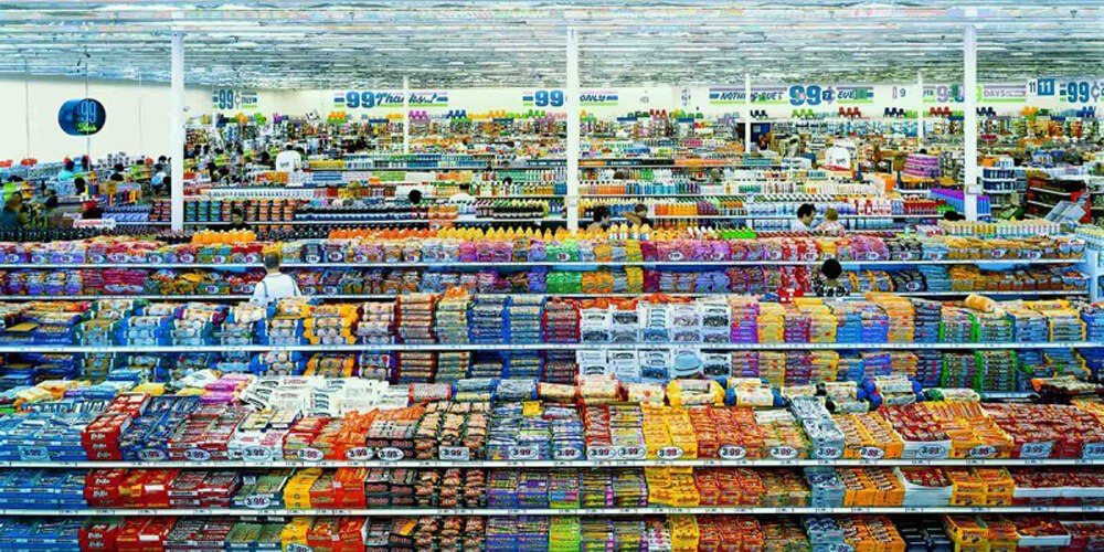 99 cent by Gursky