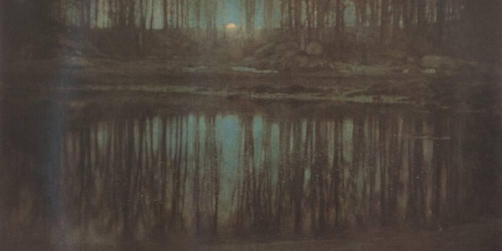 Pond by Steichen