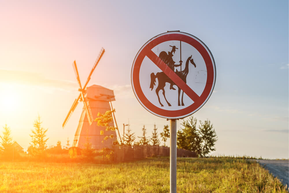 The world's first modern novel was written by a Spaniard – Cervantes penned his Don Quixote as early as in 1605!