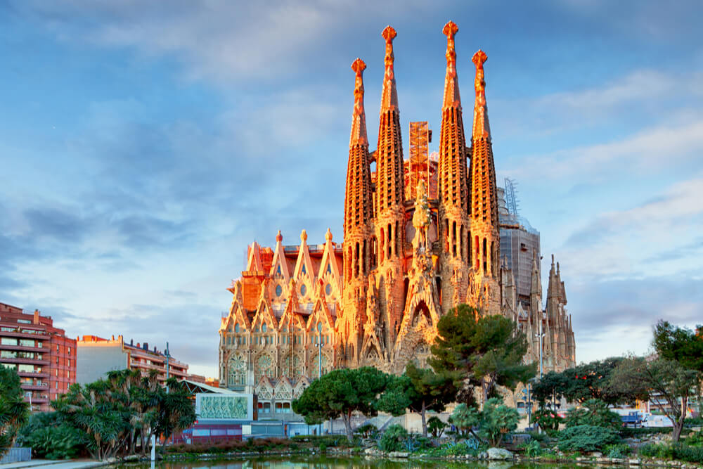 Spain is the world's third most popular tourist attraction, receiving over 60 million visitors annually.