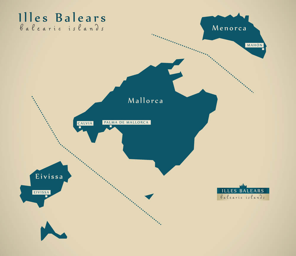 Mallorca is the largest of the Balearic Islands
