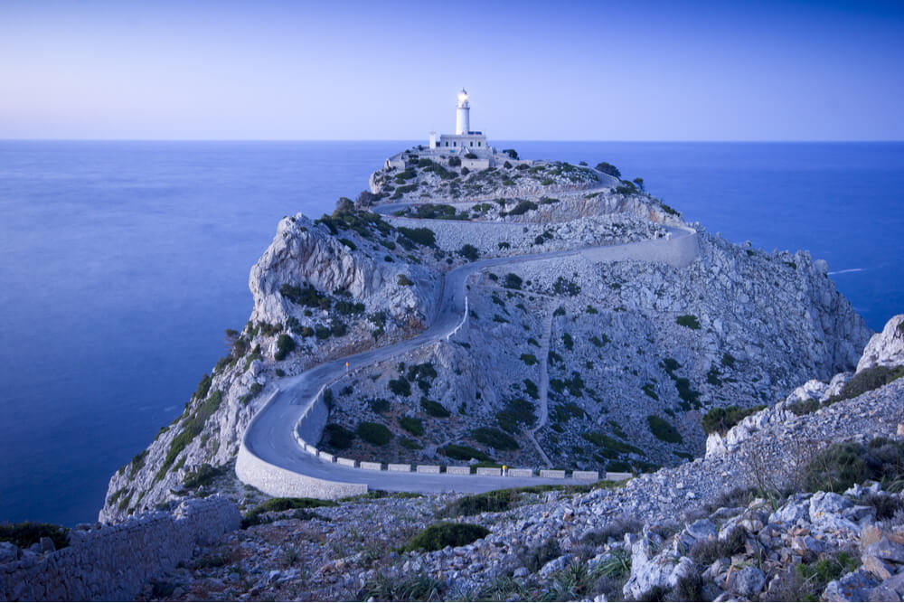 Cape Formentor is exceptionally beautiful.