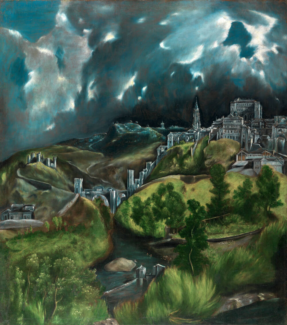 Reproduction of View of Toledo by El Greco