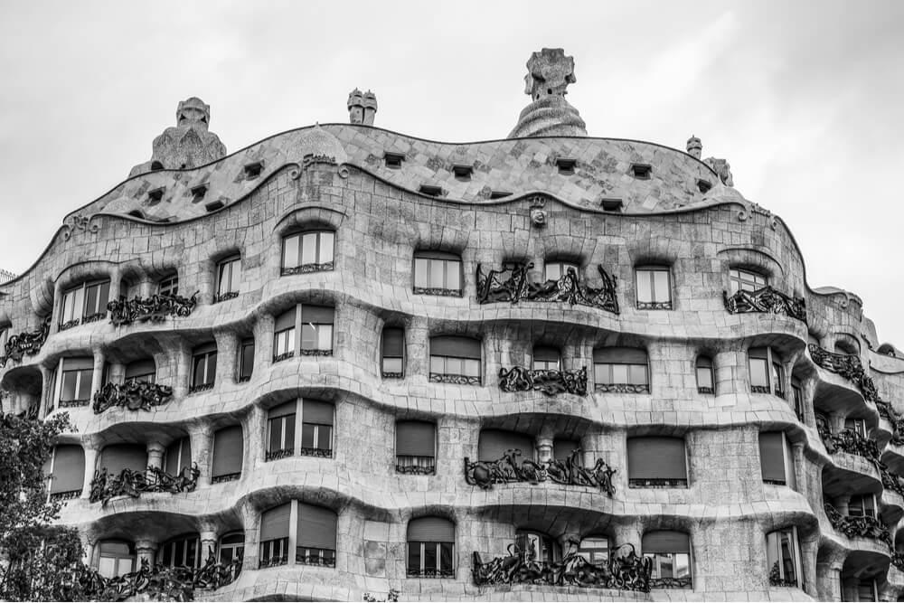 Street view of Casa Milà