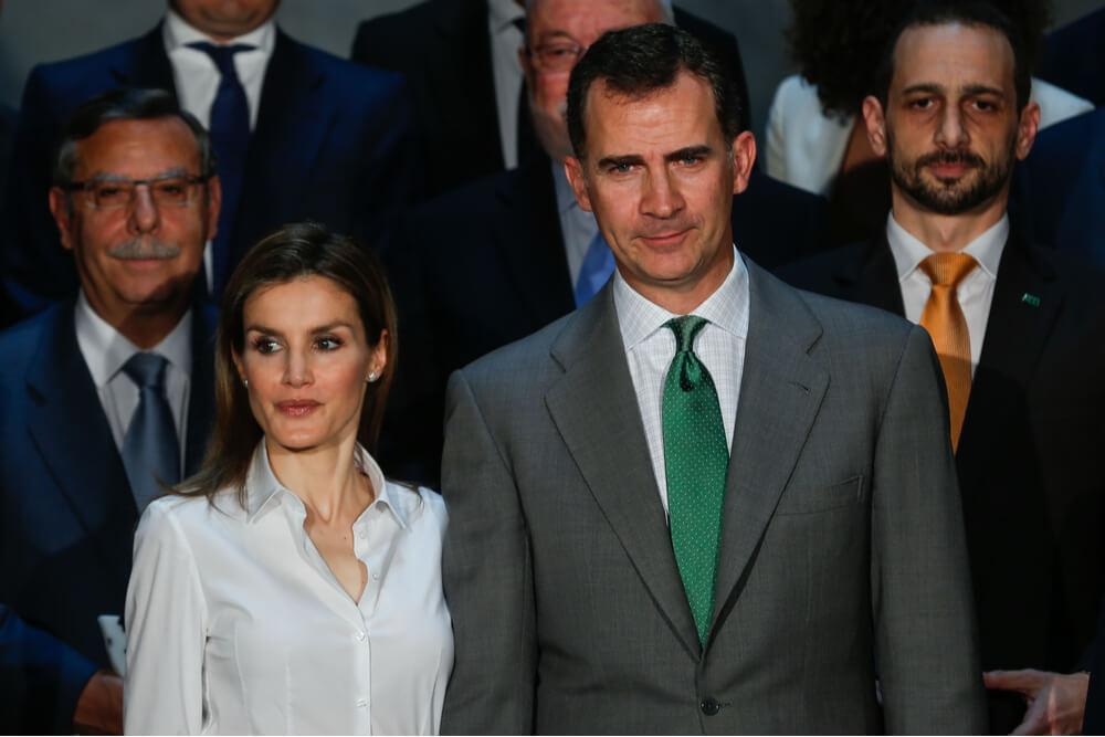 King Felipe and his wife Queen Letizia