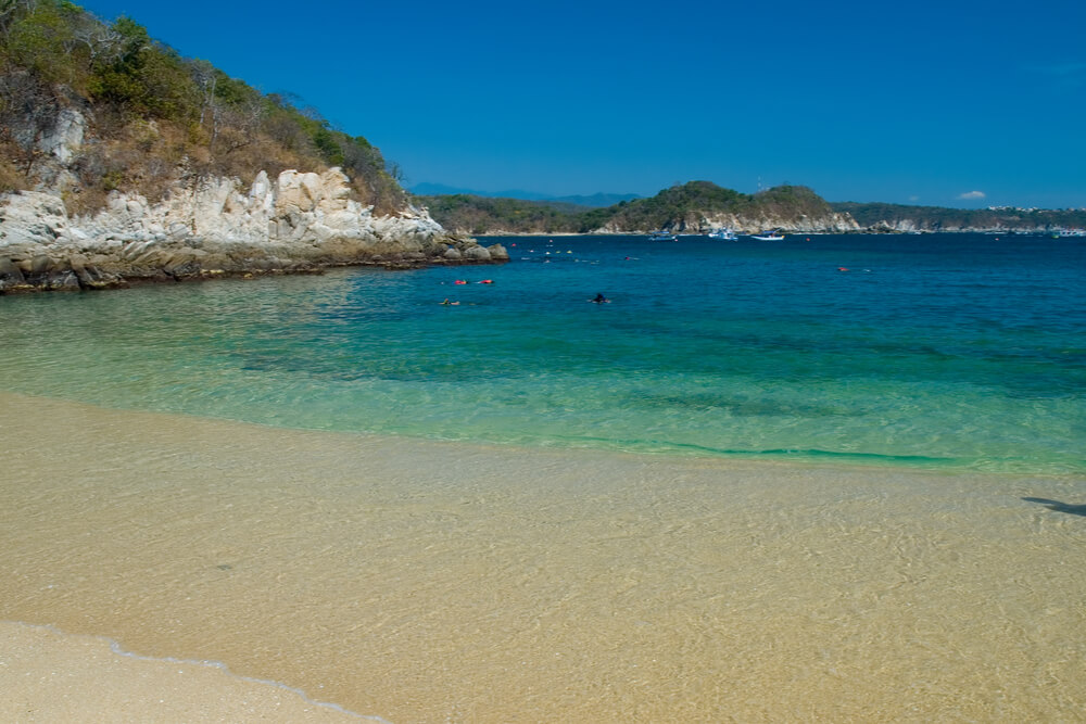Huatulco is famous for its outstanding beaches