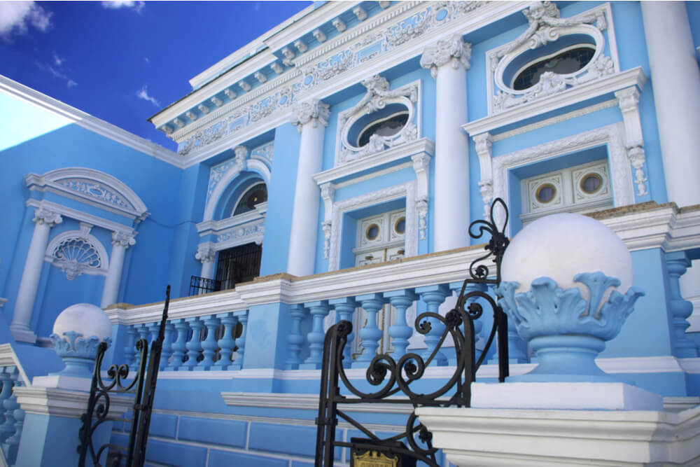 Merida has numerous examples of beautiful colonial architecture