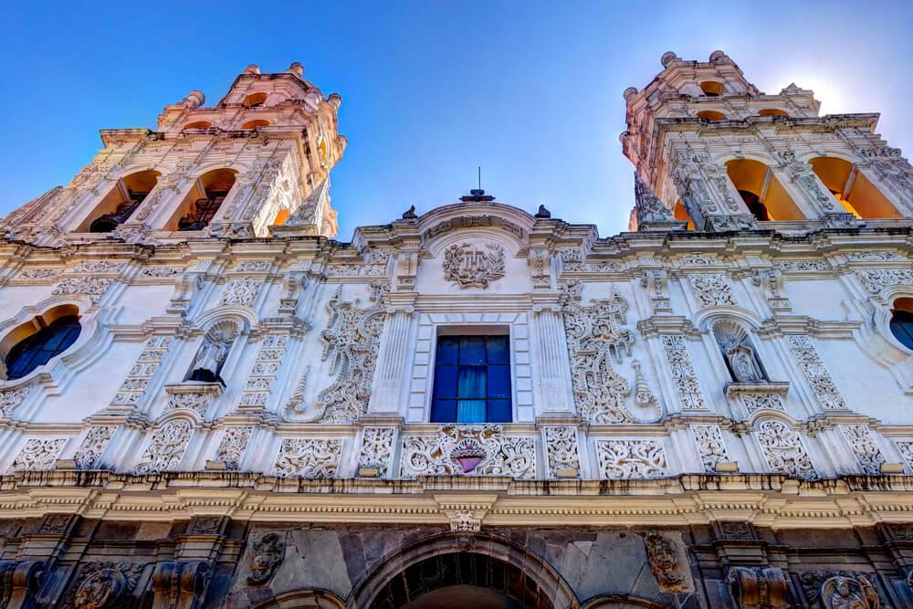 Beautiful architecture of Puebla, Mexico
