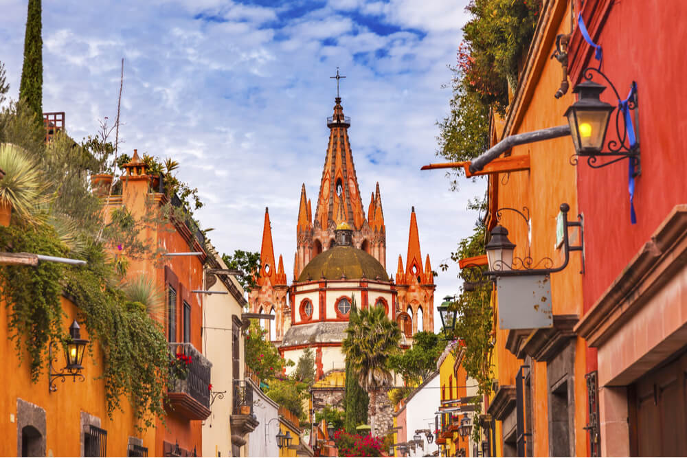San Miguel de Allende is an attraction as a whole