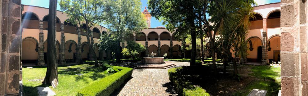 a botanic garden in San Miguel de Allende, Mexico