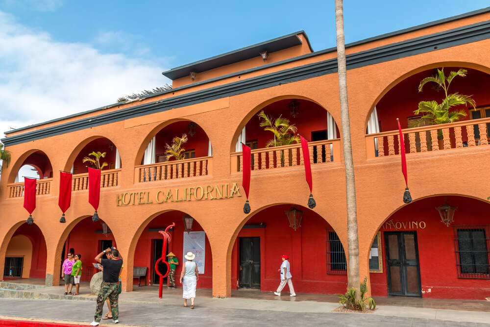 Allegedly THE Hotel California is located in Todos Santos, Mexico