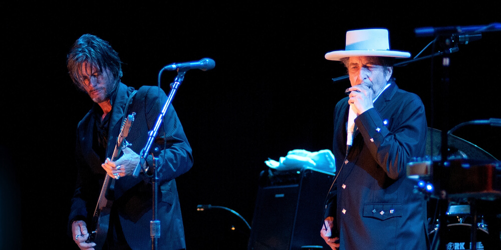 Bob Dylan performs at FIB on July 13, 2012 in Benicassim, Spain.