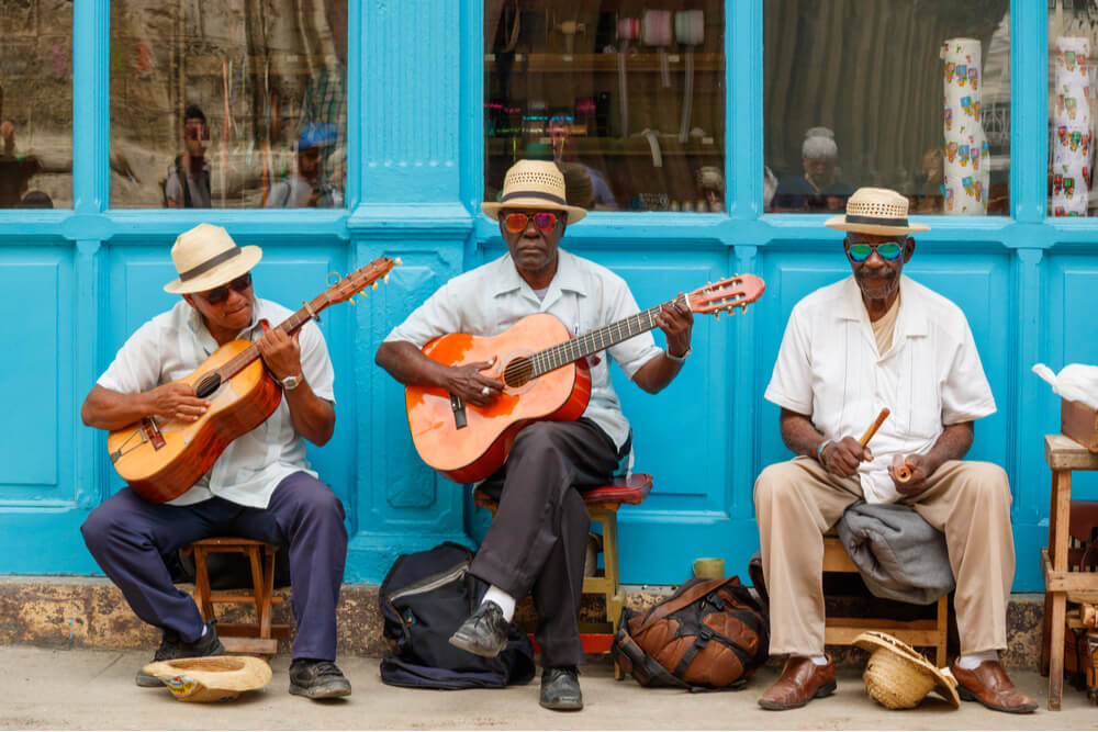 Cuban music is well-known around the world