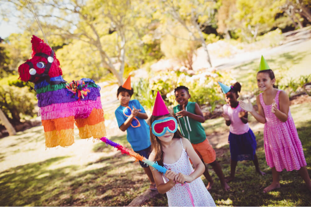 Piñata is one of the best-known traditions of a Spanish birthday