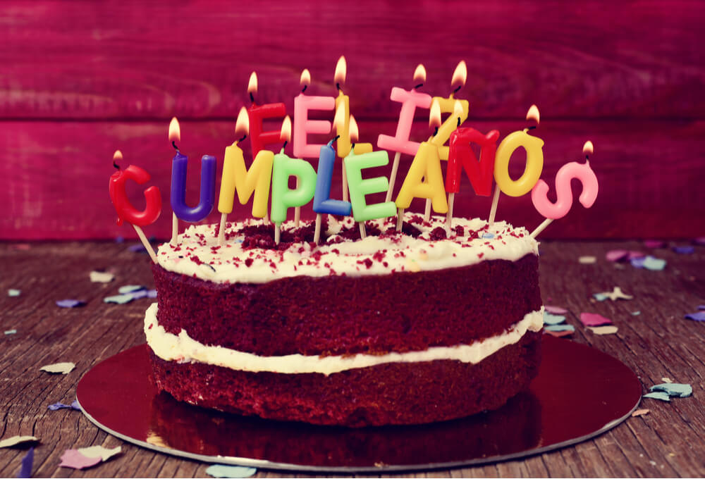 Learn birthday wishes in Spanish