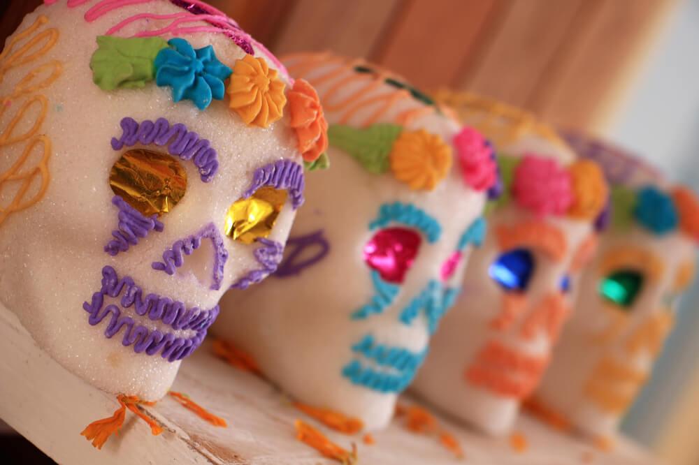 Sweet Mexican Sugar Skulls