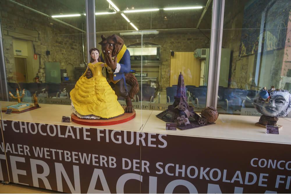 Museu de la Xocolata or Chocolate Museum located in the Born district in Barcelona