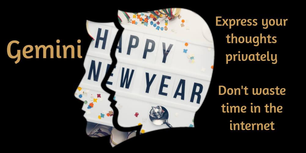 Gemini New Year