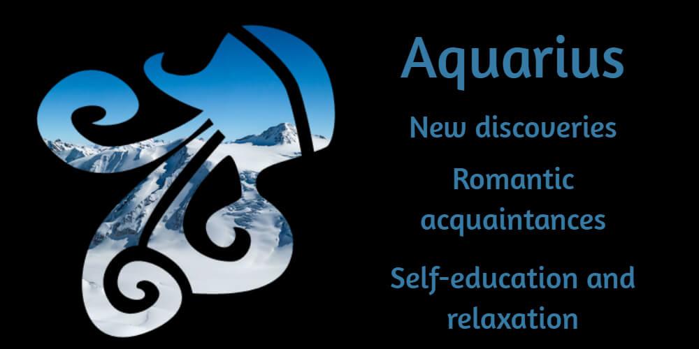 Aquarius in January