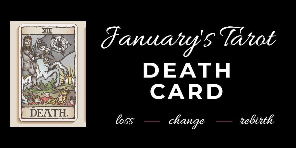 the death tarot card