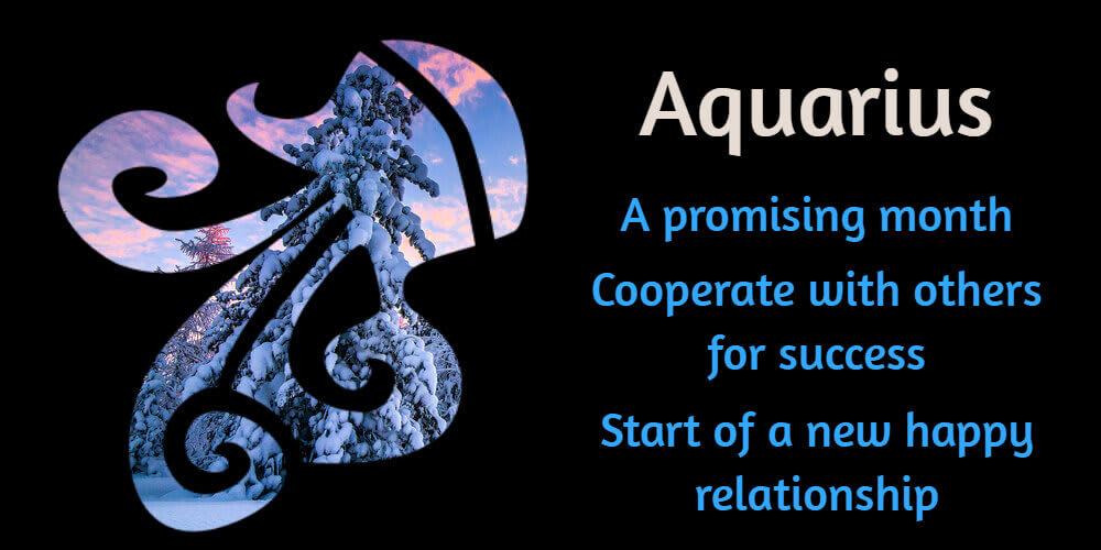 Aquarius in February