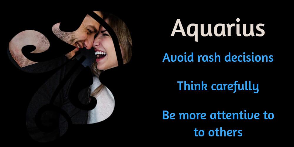 Suggestions for Aquarius