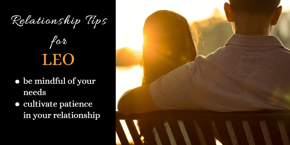 Relationship Tips for Leo