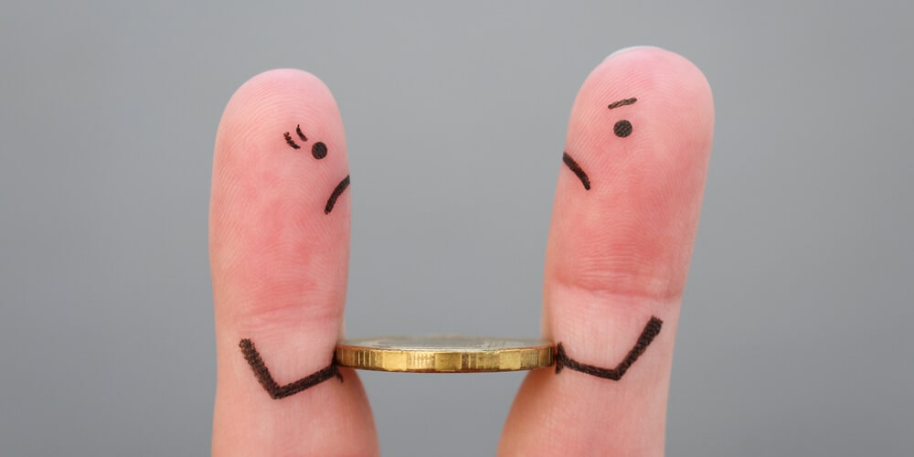 Big-idea and detail-oriented people often quarrel about money