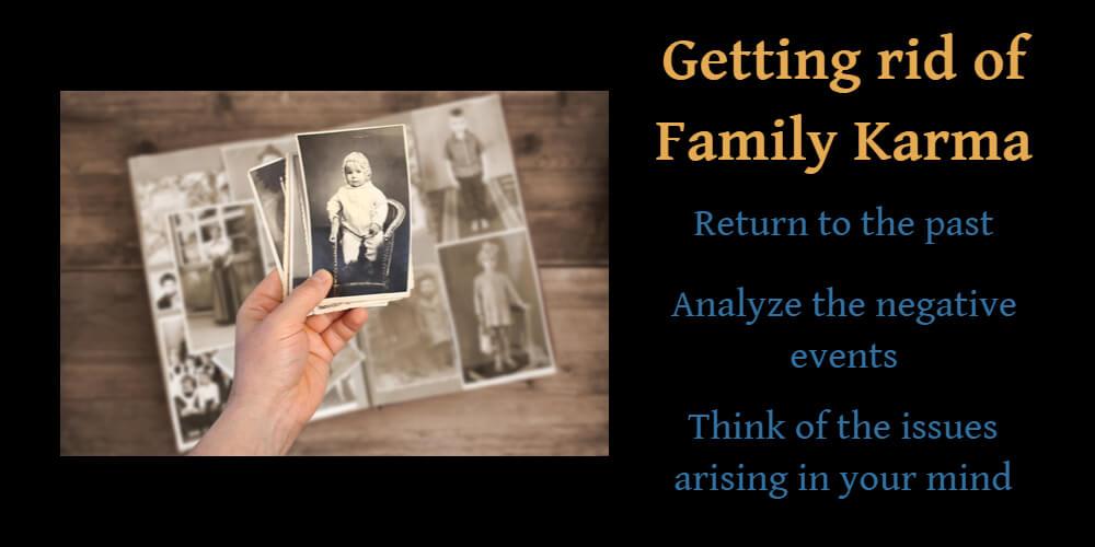 get rid of family karma