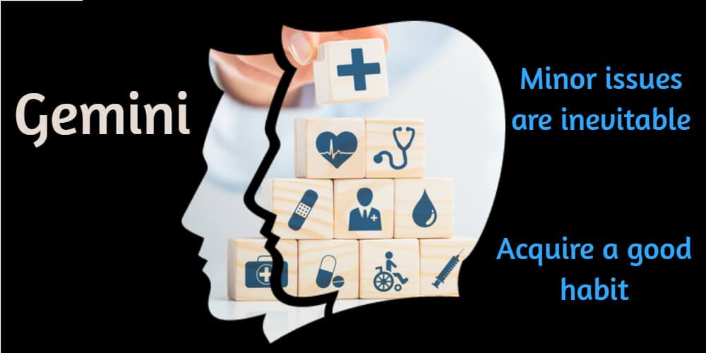 Health horoscope for Gemini