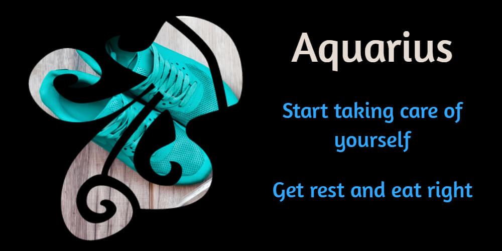 Health horoscope for Aquarius