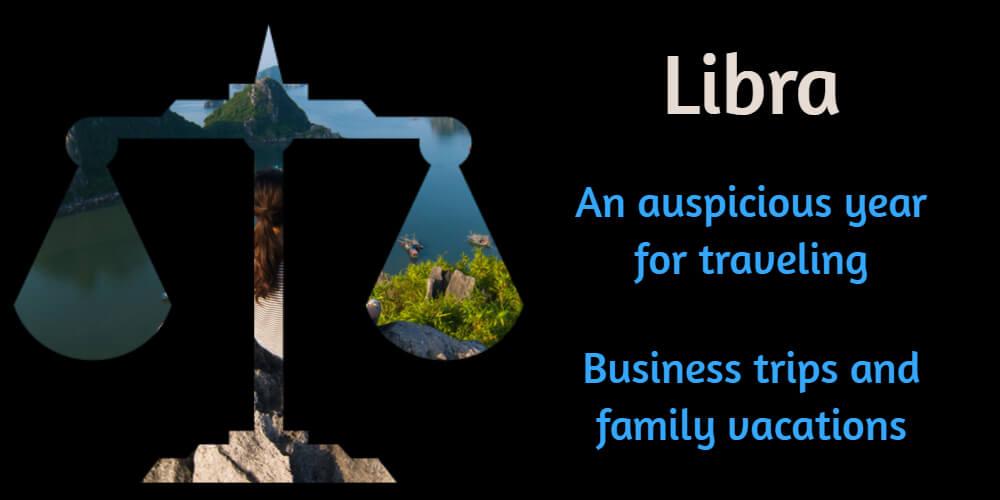 Travel horoscope for Libra