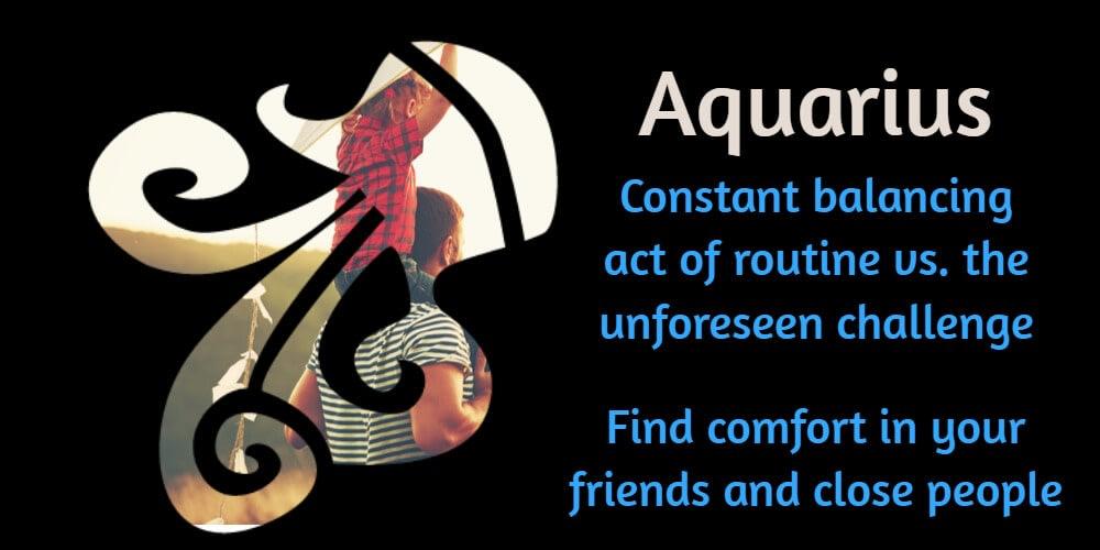 Yearly horoscope for Aquarius