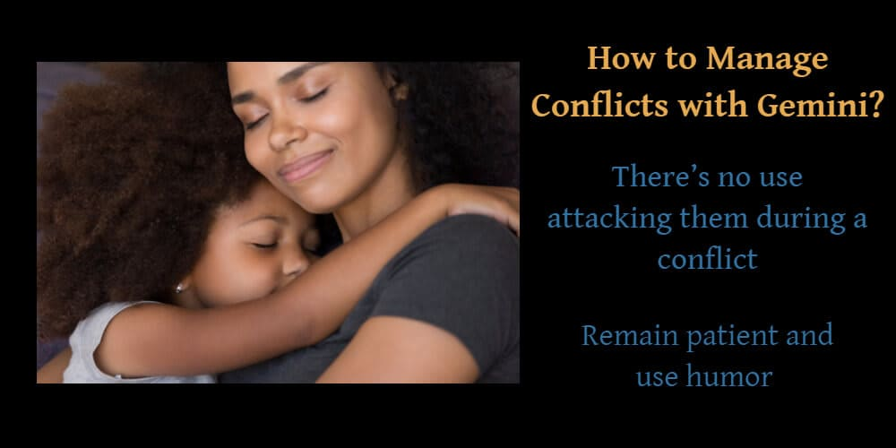 How to manage conflicts with Gemini